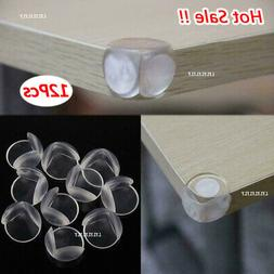 1/12Pcs Desk Table Cover Protectors Safe For Child Baby Safe