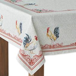 100% Cotton Tablecloth Kitchen Dining Table Cover Vintage St