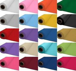 100ft Plastic Banquet Roll Table Covers Birthday Wedding Par