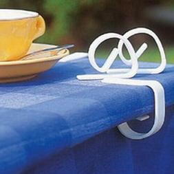 12pcs Plastic Tablecloth Table Cover Clips Holder Cloth Clam