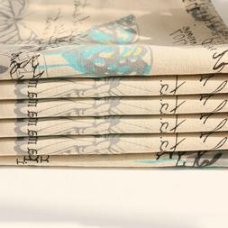 1pc butterfly table runners cotton linen insect