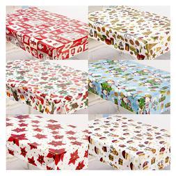 1pcs 110*180cm Christmas <font><b>Table</b></font> cloth Din
