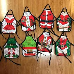 1Pcs Christmas Santa Wine Bottle Apron Cover Wrap Xmas Dinne