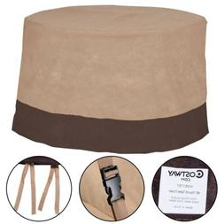 """1X 48"""" Large Waterproof Outdoor Patio Round Table Cover Furn"""