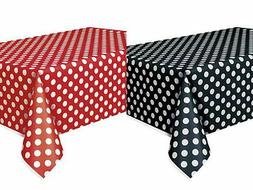 2 Mickey Minnie Mouse Polka Dot Table Covers Birthday Party