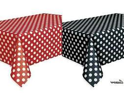 2 Mickey Minnie Polka Dot Table Covers Birthday Ladybug Red