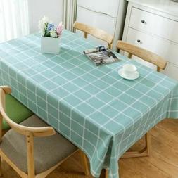 2018 New Hot Simple Pattern Pvc Waterproof  Elegant Table Co