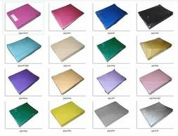 25-pack Folded Paper Coloured Embossed  90cm x 90cm Table Co