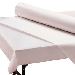 Hoffmaster 260045 CPC 40 in. x 300 ft. Table Cover Paper Whi