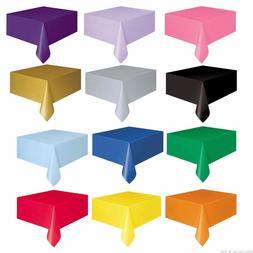 274x137CM <font><b>Tablecloth</b></font> Multicolor Plastic