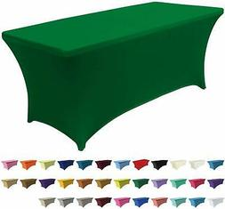 ABCCANOPY 30+ Colors Spandex Table Cover 6 ft. Fitted Polyes