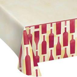 Creative Converting 324452 Border Print Plastic Table cover,