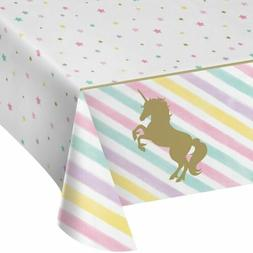 Creative Converting 329302 All Over Print Plastic Tablecover
