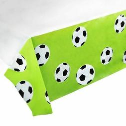 "3pcs 54"" x 108"" Soccer Disposable Plastic Table Covers Table"