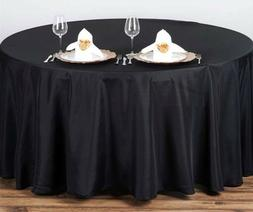 "4 pcs 90"" Round heavy polyester tablecloth - Table cover who"