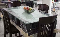 40 x60 transparent pvc table cover sheet