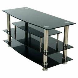 Home Source Industries 41 in. Glass TV Stand