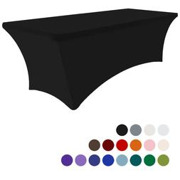 4Ft Rectangular Fitted Spandex Tablecloths Wedding Party Tab