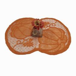 4Pcs Placemat Pumpkin Table Cover Party Supplies Table Mats