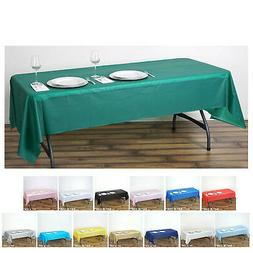 5 Pcs Spotless Elegance Rectangle Disposable Plastic Table C