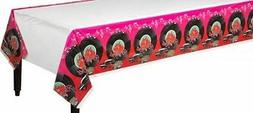 50's Theme Tablecloth Rock & Roll Birthday Party Decoration