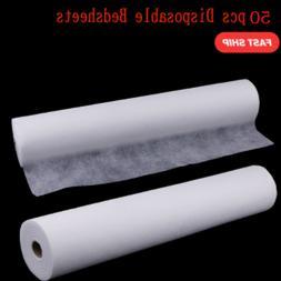 50 Sheets Non-Woven Headrest Paper Roll Spa Salon Massage Be