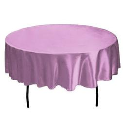 57 inch Round Satin Table Cloth Covers Tablecloth For Home W