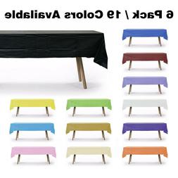 """54"""" X 108"""" Disposable Heavy Duty Rectangle Table Cover for"""