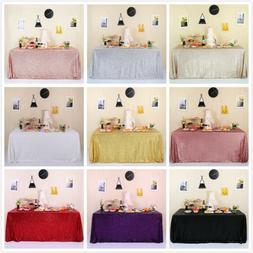 60 x105 sequin tablecloth sparkly wedding banquet