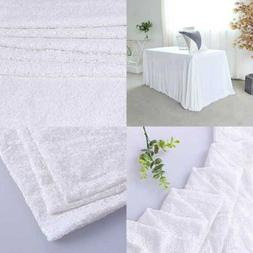 60x120 white rectangle sequin tablecloth table cover