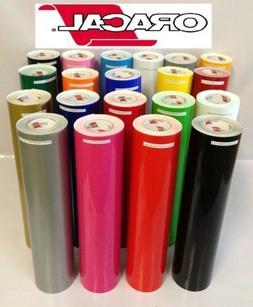 Oracal 651 Starter kit  20 Glossy Self Adhesive Vinyl Sheets
