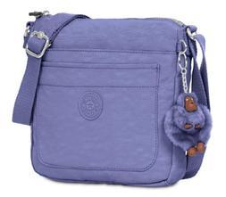 Kipling $69 NWT Sebastian Crossbody Bag Bold Purple Flynn Mo