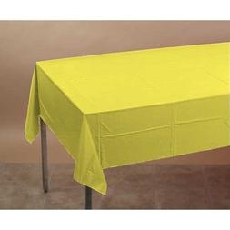 Creative Converting 710228 Mimosa Tissue/Poly Tablecover 54