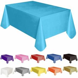 72 54 plastic rectangle table cover cloth