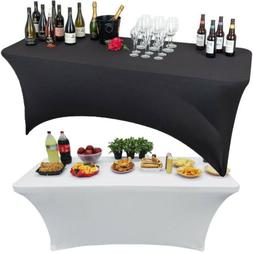 72/95 inch Dj Table Cover Stretch Scrim Spandex Type Table S