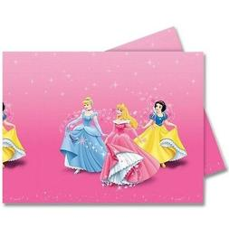 "72"" x 47"" Disney Princess Party Disposable Plastic Table Cov"