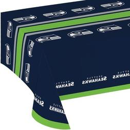 Creative Converting 729528 Seattle Seahawks Plastic Table Co