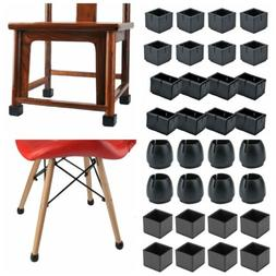 8-32pcs Silicone Chair Leg Caps Feet Pads Table Covers Floor