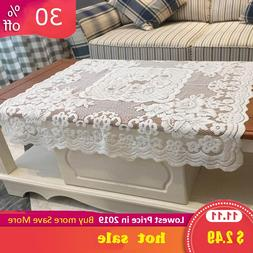 80*80CM Lace <font><b>fabric</b></font> Tablecloths For Home