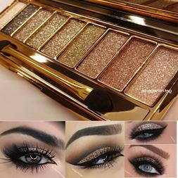 9 Colors Glitter Eyeshadow Eye Shadow Palette & Makeup Cosme