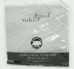 Creative Converting 923281 Shimmering Silver Tissue/Poly Tab