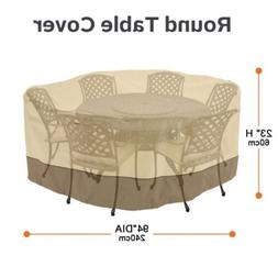 """94"""" Veranda Patio Set Cover Table & Chair Outdoor Garden Fur"""