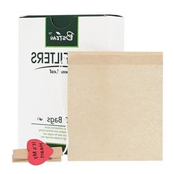 Bstean Tea Filter Bags Disposable Tea Infuser Drawstring Loo