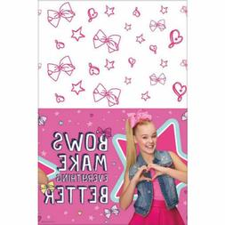 JoJo Siwa Paper Table Cover Girls Birthday Party Decoration