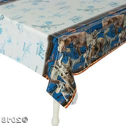 NEW Jurassic World Table Cover Plastic T-Rex Birthday Party