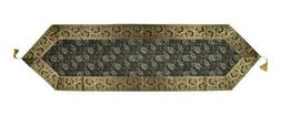 Table Runner Tapestry Brocade Decorative Silk New Table Cove