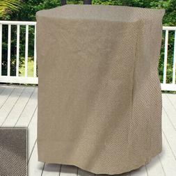 Freeport Park Aadhya Square Outdoor Side Table/Ottoman Cover