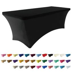 ABCCANOPY Spandex Table Cover 6 ft. Fitted 30+ Colors Polyes