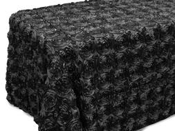 AK-Trading Tablecloth 54 x 96-Inch Rectangular Rose Grandios