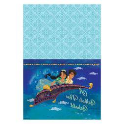 ALADDIN PAPER TABLE COVER ~ Birthday Party Supplies Decorati